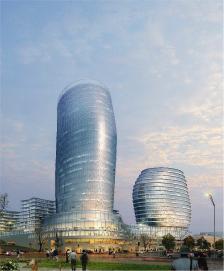 Business - Park avec l'hôtel Perm, Russie