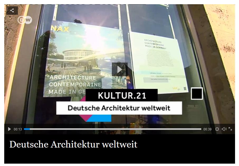 """""""Deutsche Architektur weltweit"""", Beitrag Deutsche Welle"""
