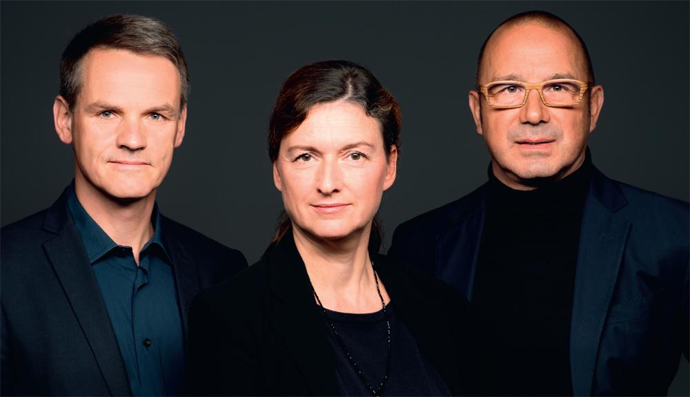 Torsten Krüger, Christiane Schuberth, Bertram Vandreike